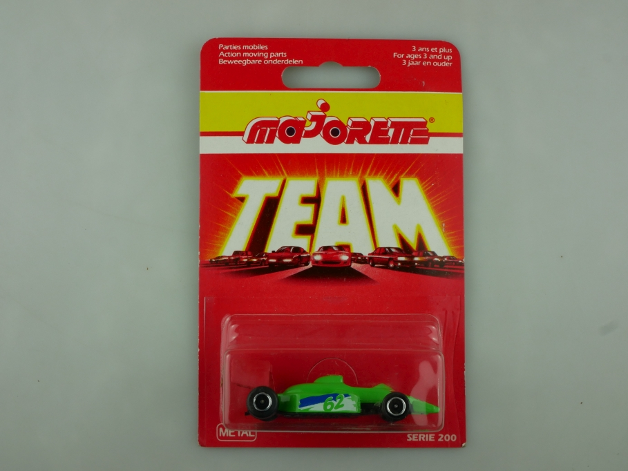 238 Majorette ca.1/55 Formel 1 Rennwagen Hot Winner made in Portugal  Box 513586