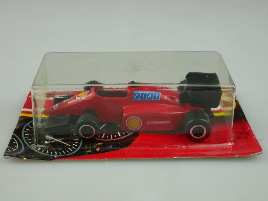 282 Majorette 1/55 Formel 1 Rennwagen Ferrari F1 1991 Thailand mit Box 513588
