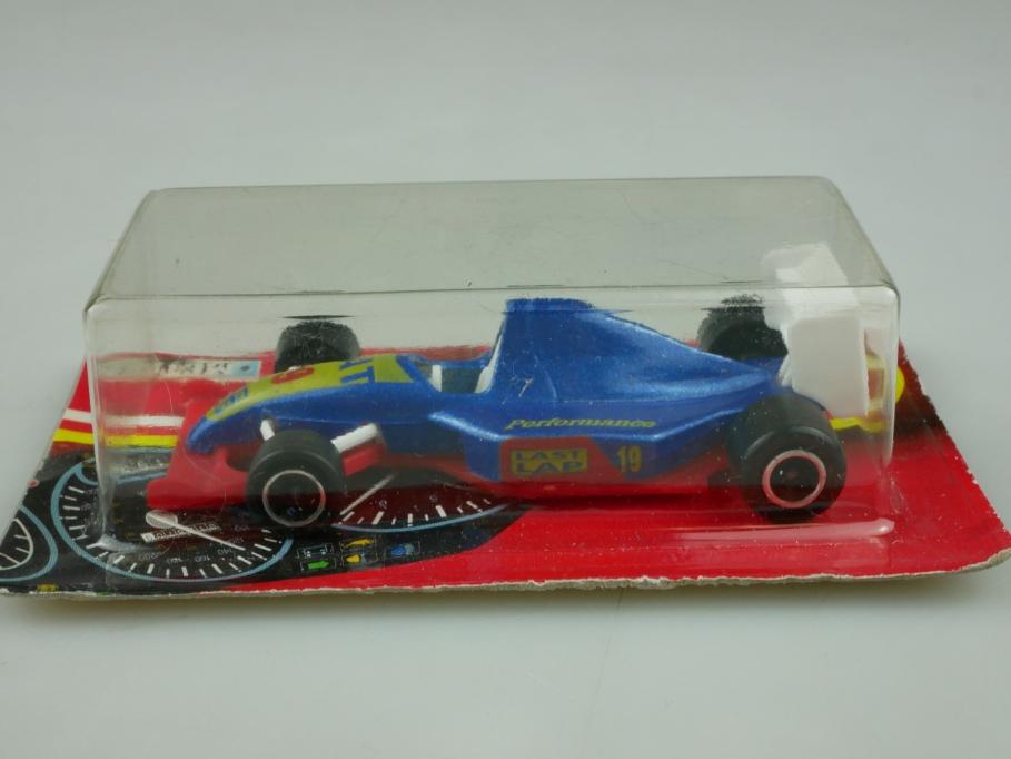 213 Majorette 1/55 Formel 1 Rennwagen Last Lap 1991 Thailand mit Box 513589