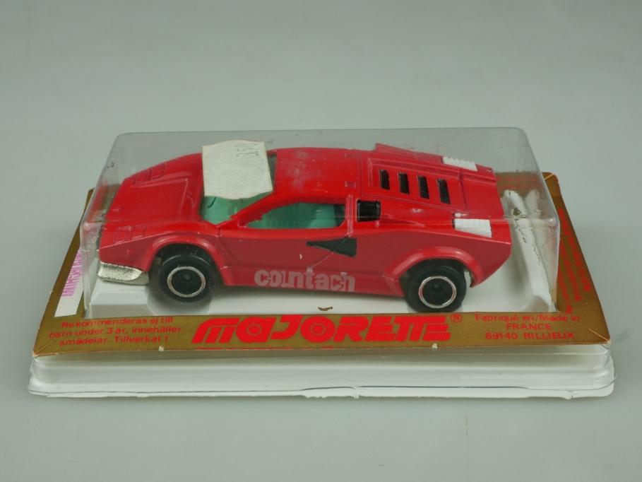 237 Majorette 1/56 Lamborghini Countach Supersportwagen mit Box 513601