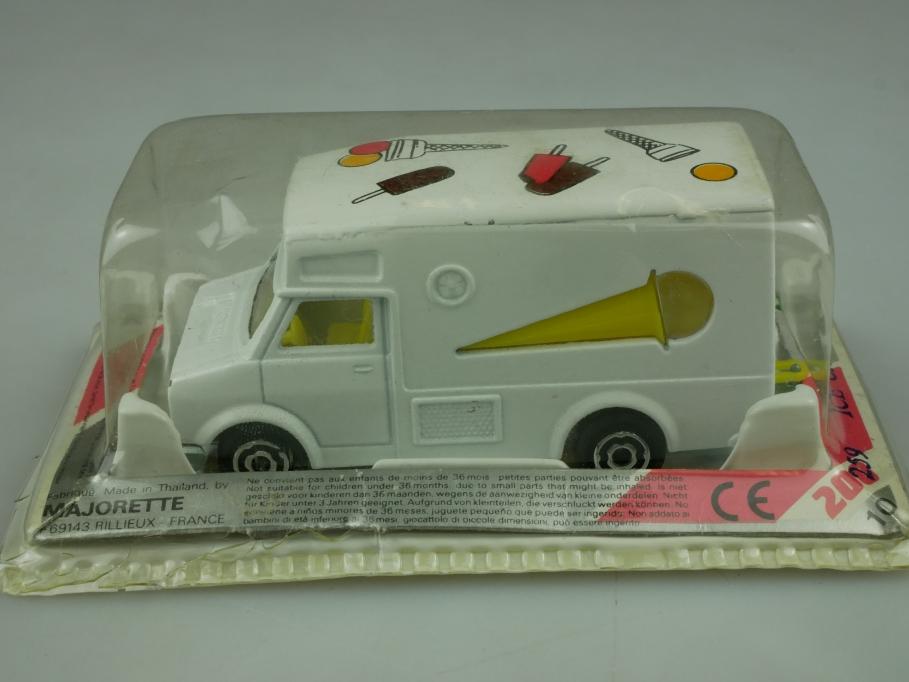 259 Majorette 1/67 Bedford Ice Cream Van made in Thailand mit Box 513602