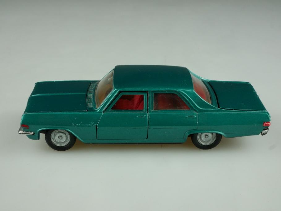 521 Politoys 1/43 Opel Diplomat V8 Limousine greenmetallic ohne Box 513716