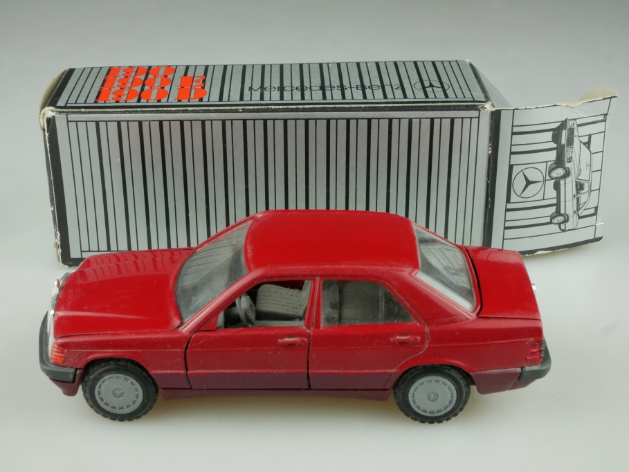 1182 Cursor 1/35 Mercedes Benz 190 E Limousine W 201 red mit Box 513730