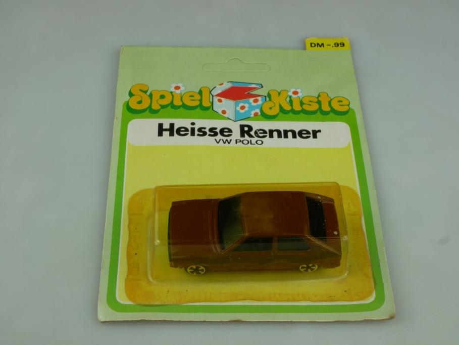 1/64 80s VW Polo 1 Heisse Renner Spielkiste Universal Hongkong Blister 513733
