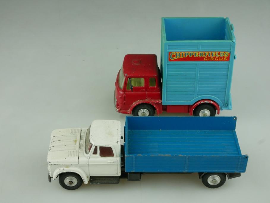 483 Corgi Toys 1/43 Bedford Dodge Truck Ersatzteil Konvolut ohne Box 513757