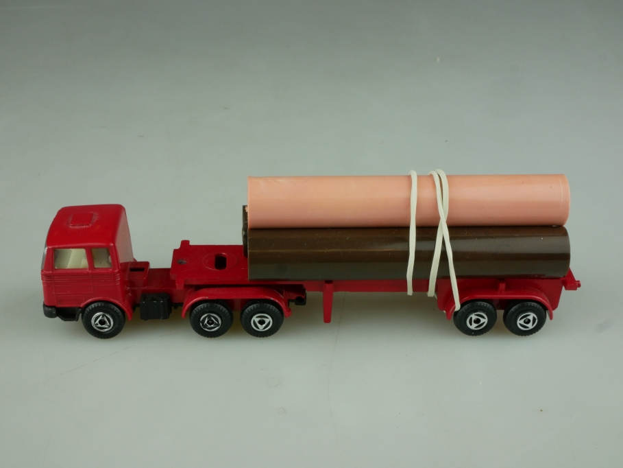 Efsi Holland 1/87 Mercedes Benz Röhrentransporter Pipecarrier ohne Box 513760