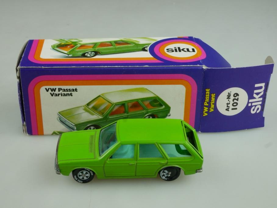 1029 Siku 1/55 VW Passat Variant zivil Kombi grünmetallic mit Box 513768