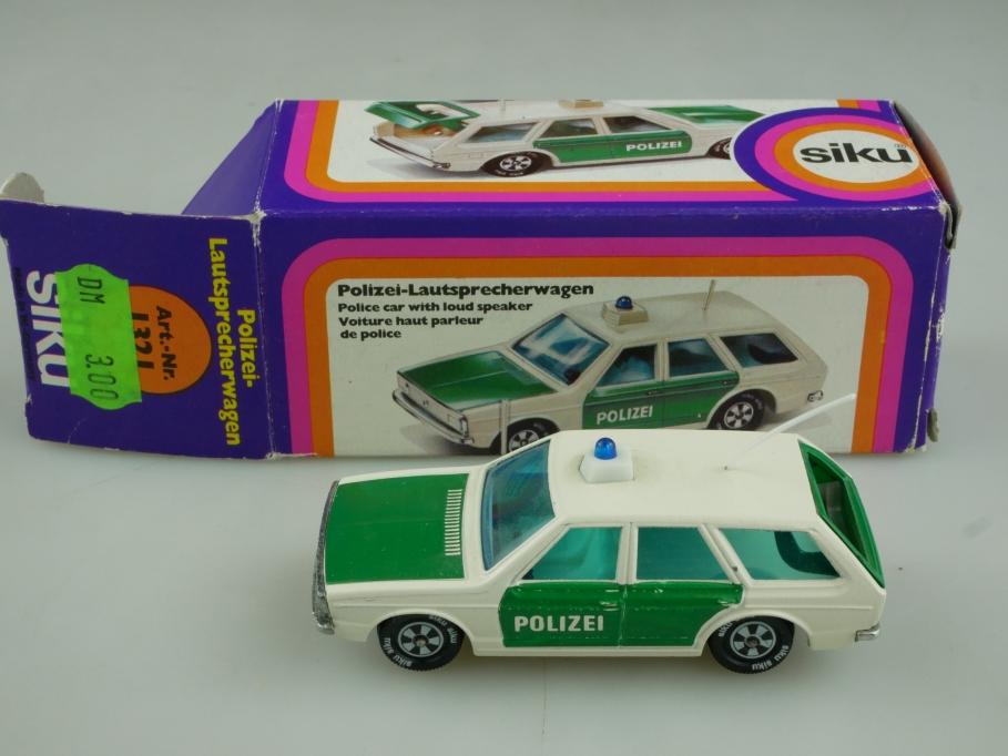 1321 Siku 1/55 VW Passat Variant Polizei Lautsprecherwagen mit Box 513769