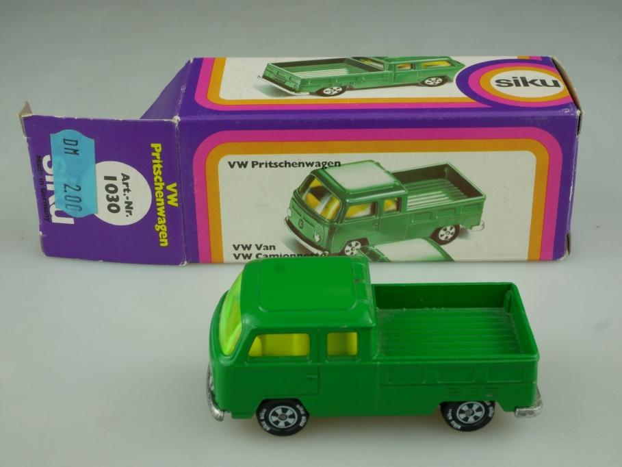 1030 Siku 1/55 VW T2 Pritschenwagen Volkswagen Pickup mit Box 513771