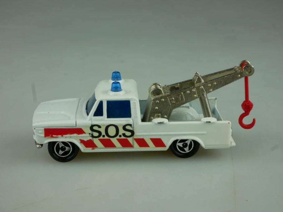 212 Majorette 1/80 Saviem Dodge Depaneuse Wrecker Abschleppwagen ohne Box 513794