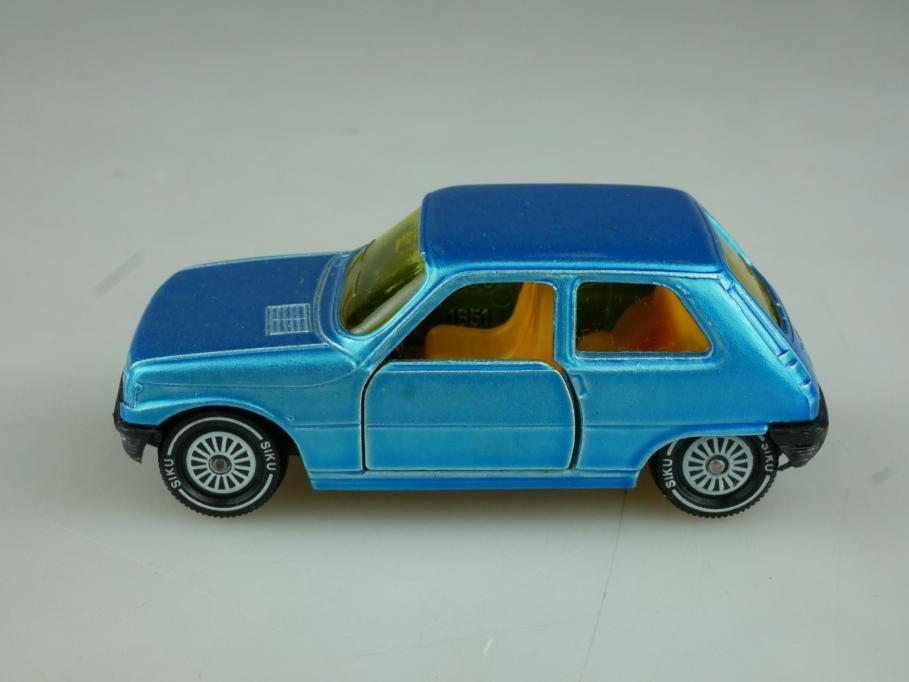 1289 Siku 1/55 Renault 5 Compact bluemetallic ohne Box 513808