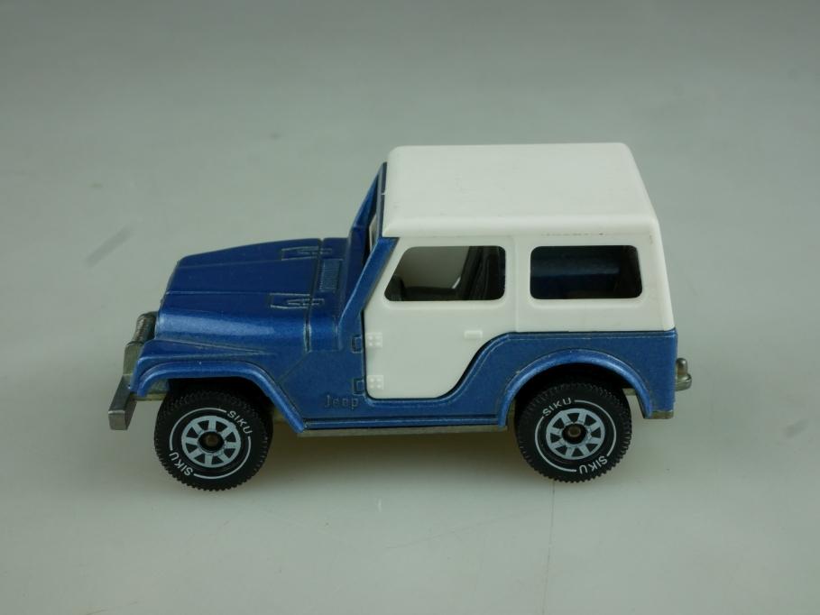 1053 Siku 1/55 Jeep CJ 5 Renegade Softtop ohne Box 513809