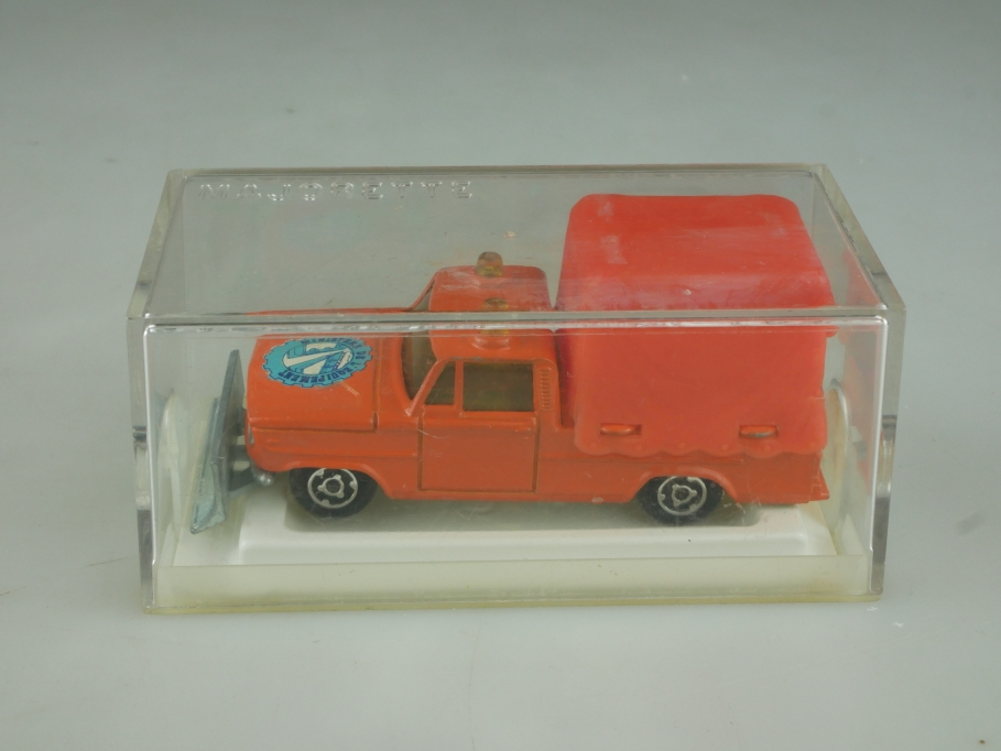 242 Majorette 1/80 Dodge Saviem Pickup Ministere del Equipement mit Box 513838