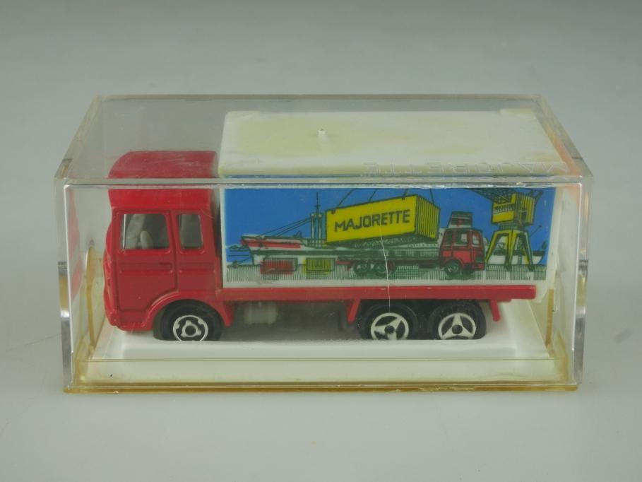 214 Majorette 1/100 Saviem Container Truck LKW mit Box 513841