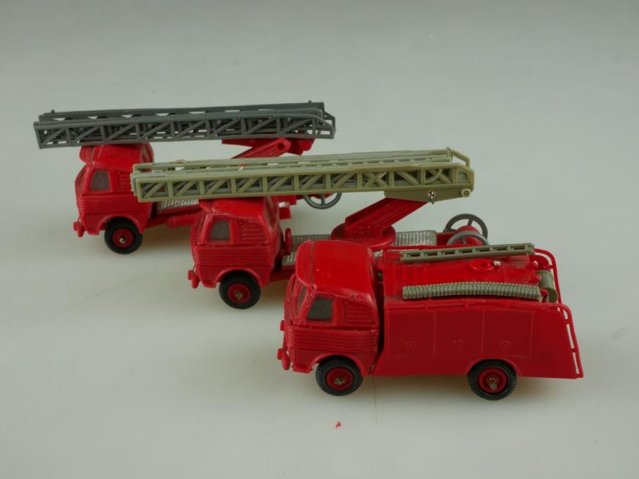 Anguplas 1/87 Pegaso Comet Feuerwehr Leiterwagen Konvolut ohne Box 513871