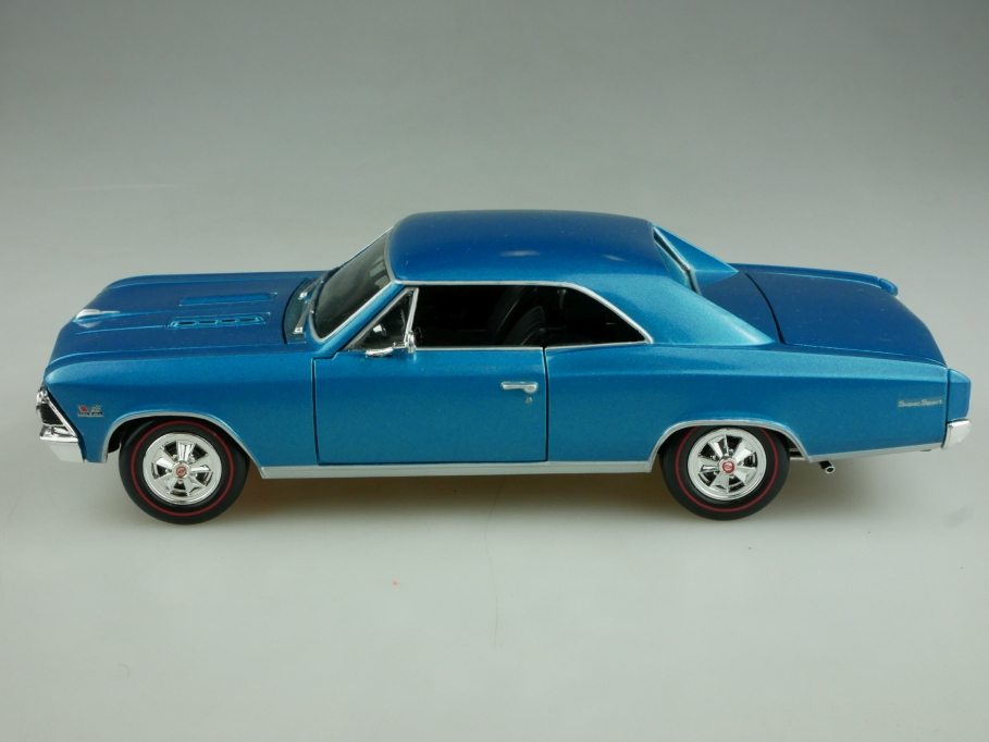 Classic Metal Works 1/24 Chevrolet Chevelle 396 Coupe bluemet. ohne Box 513870