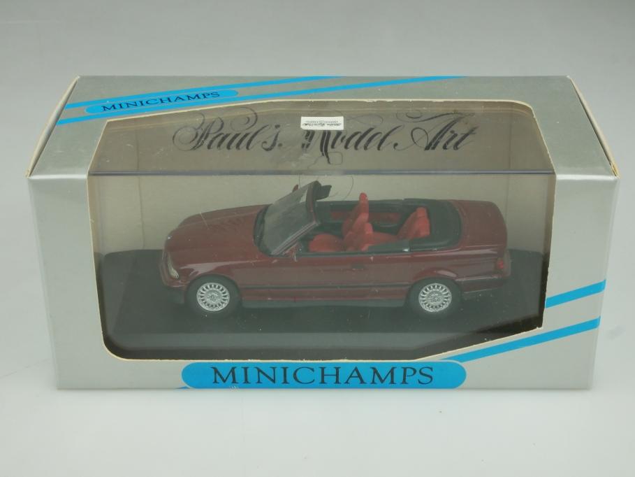 430 023332 Minichamps 1/43 BMW E36 3er Cabrio Convertible mit Box 513896