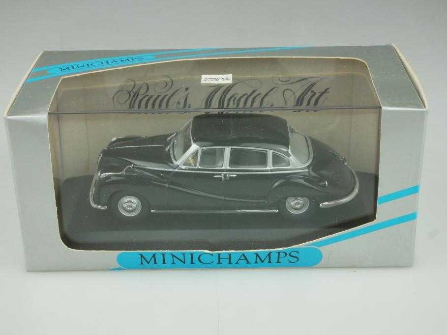 22401 Minichamps 1/43 BMW 502 V8 Limousine 1954 black mit Box 513898