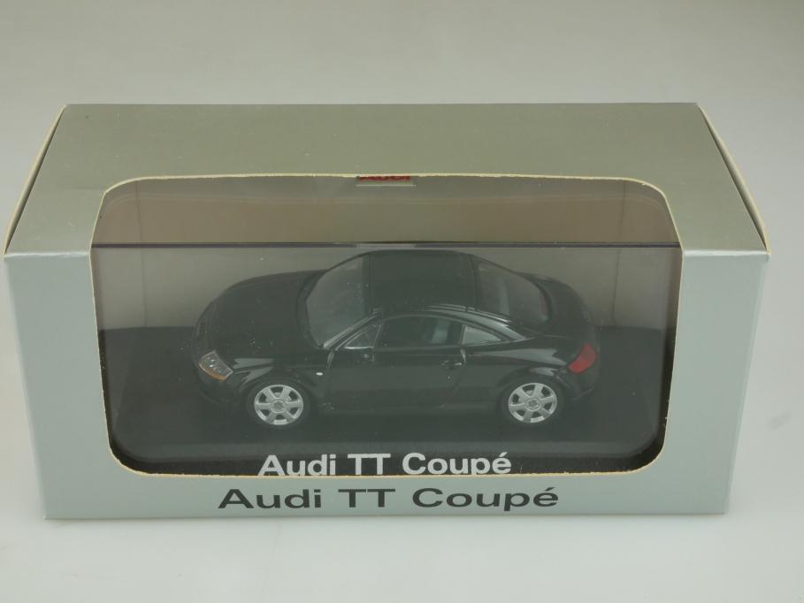 13343 C Minichamps 1/43 Audi TT Coupe 1998 black Händleredition mit Box 513922