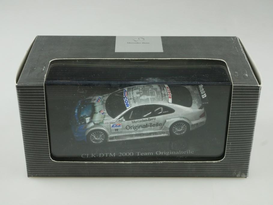 Autoart 1/43 Mercedes Benz CLK DTM 2000 Originalteile Händleredi.Box 513939