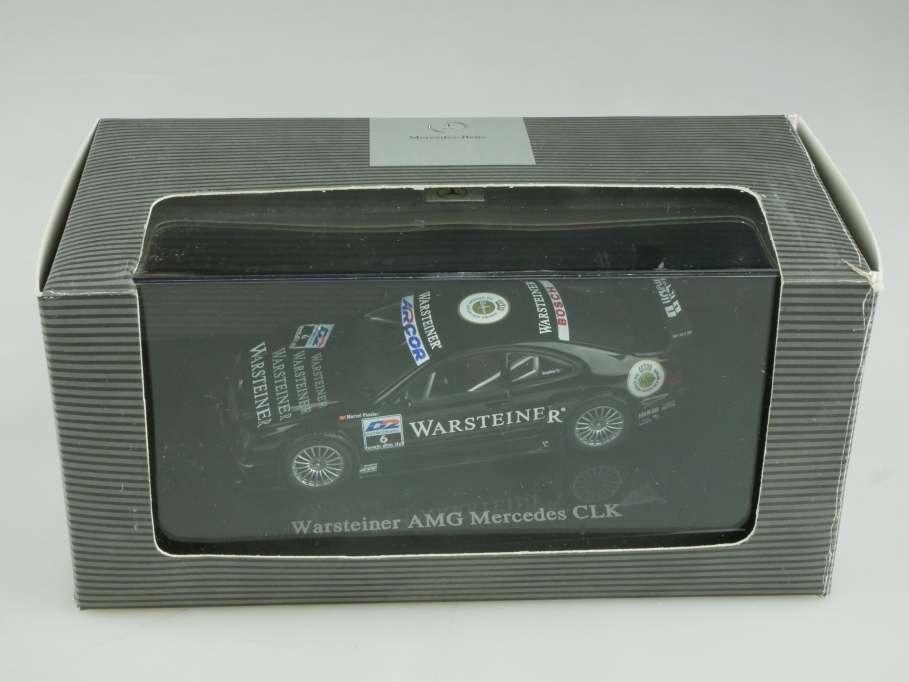 Autoart 1/43 Mercedes Benz CLK AMG Warsteiner DTM Händleredi.Box 513940