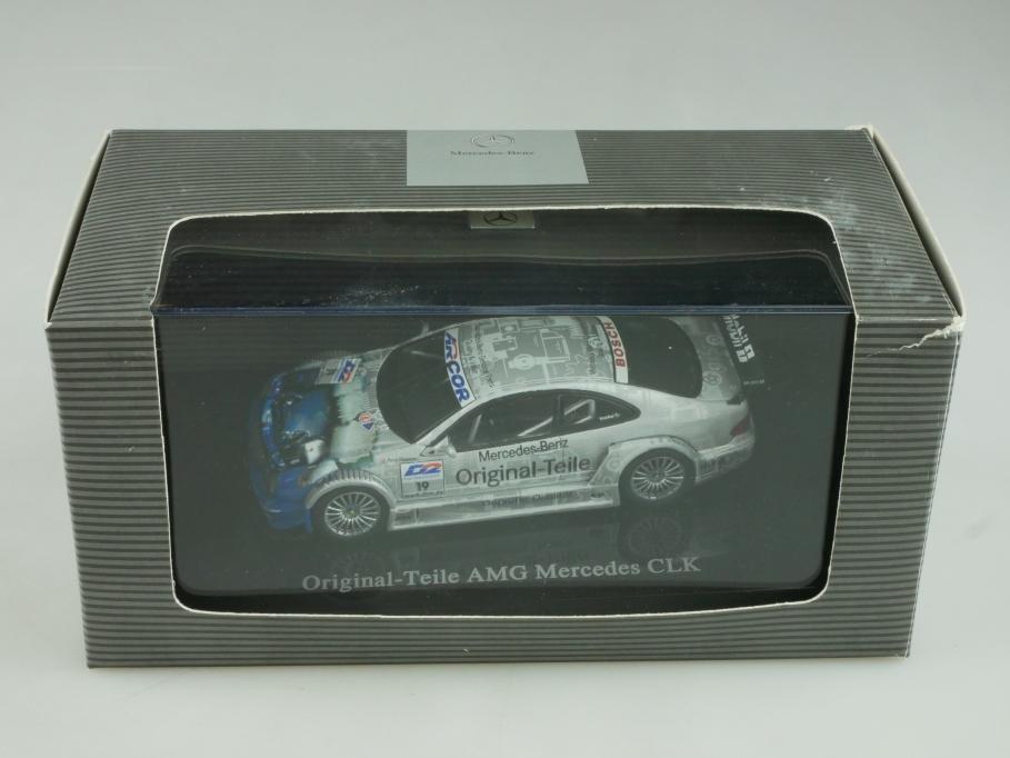 Autoart 1/43 Mercedes Benz CLK AMG Originalteile DTM Händleredi.Box 513941