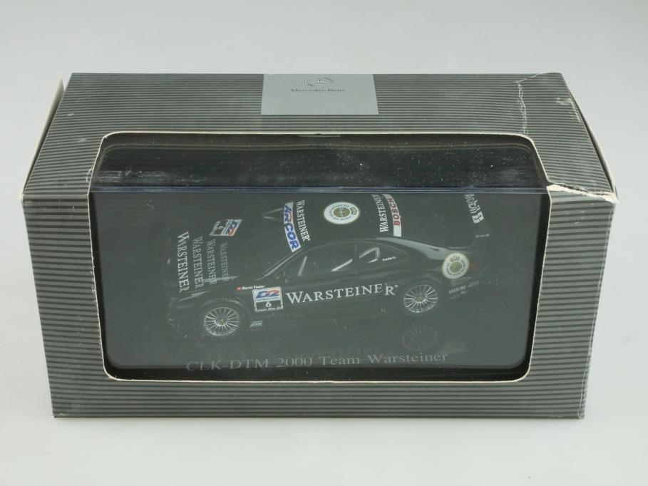 Autoart 1/43 Mercedes Benz CLK AMG Warsteiner DTM Händleredi.Box 513942