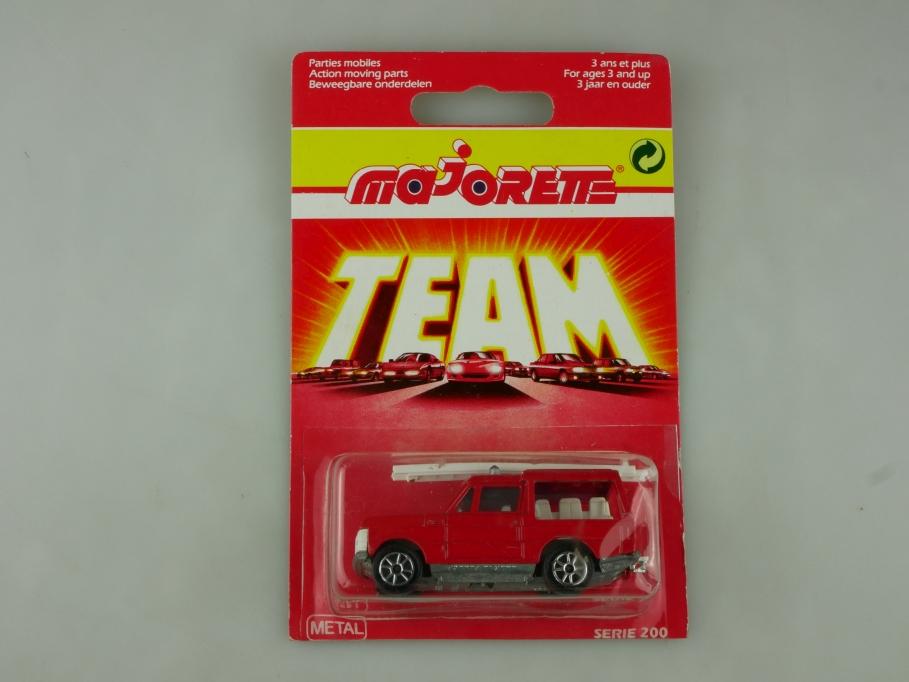 246 Majorette 1/60 Range Rover Feuerwehr Werbemodell hagebaumarkt mit Box 513952