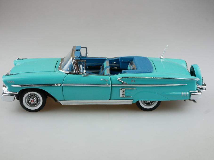 Danbury Mint 1/24 Chevrolet Impala Convertible 1958 Cabrio ohne Box 513969
