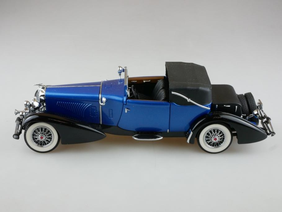 Franklin Mint 1/24 Duesenberg J Victoria Towncar 1933 ohne Box 513972