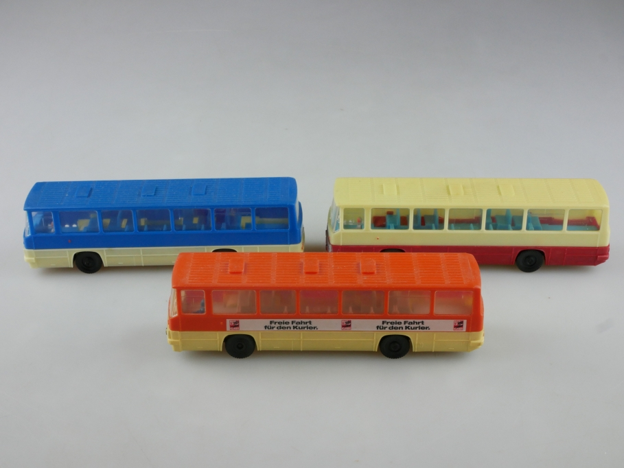 Espewe 1/87 DDR Ikarus 260 Omnibus Stadtbus Konvolut ohne Box 513996