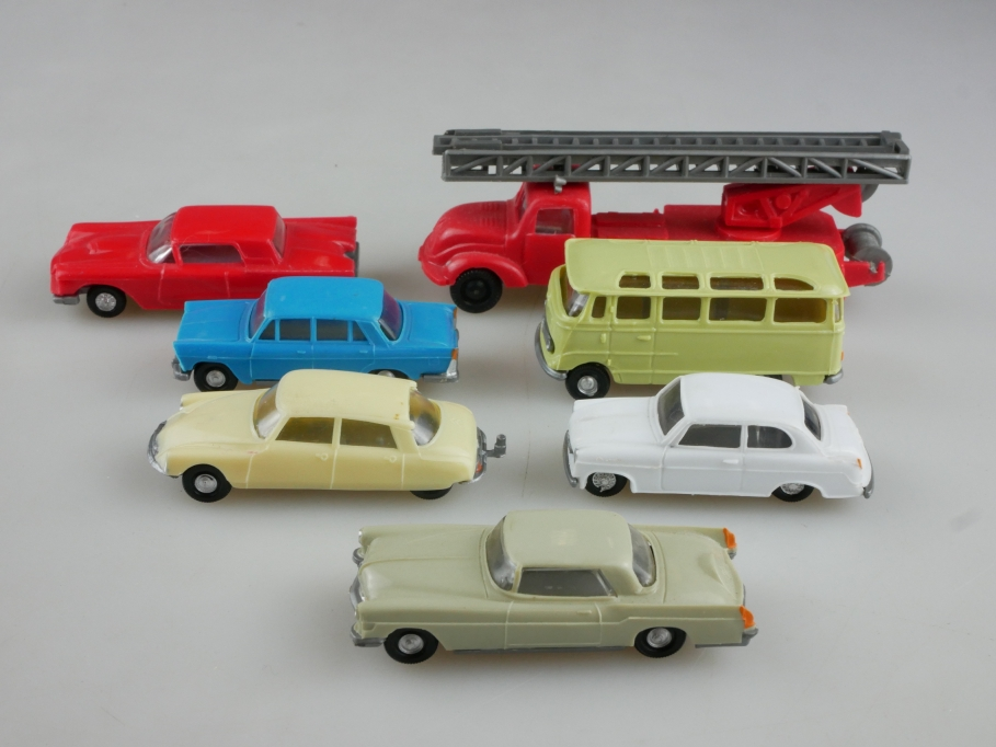 EKO 1/87 made in Spain Konvolut Magirus Benz Borgward Fiat Ford Citroen  514001