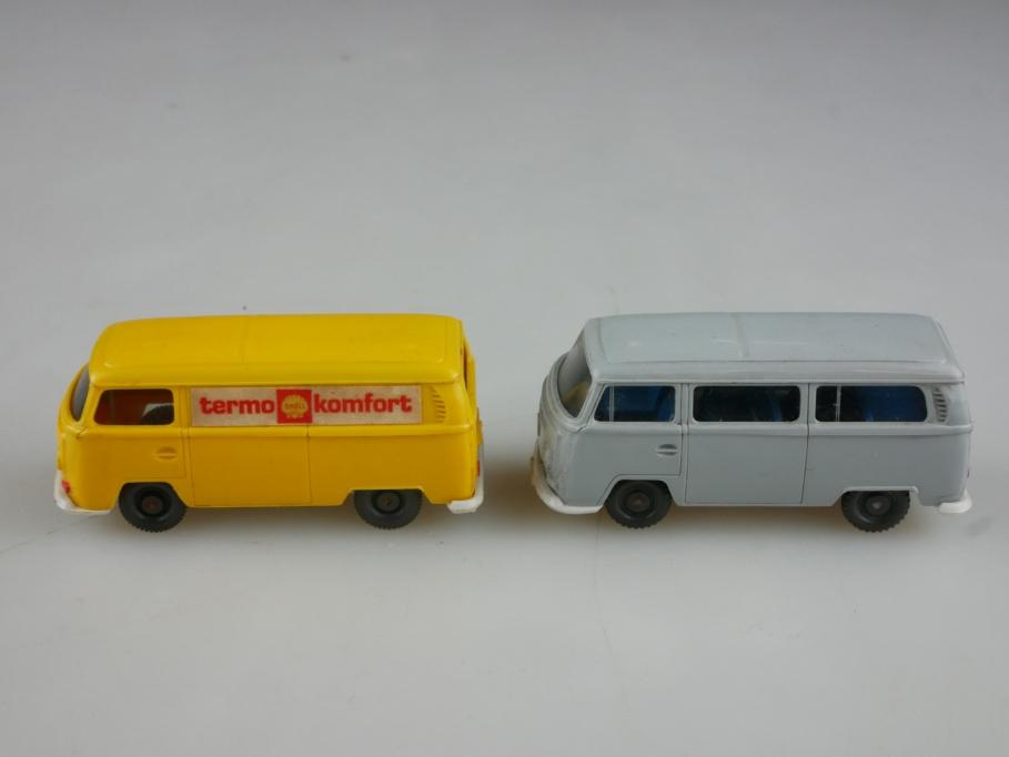 Saure 330 Wiking 1/87 VW T2 Bus silbergrau mit Thermokomfort Kasten  514002