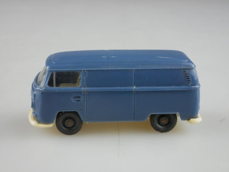 Saure 329 Wiking 1/87 VW T2 Bus Volkswagen Kasten mattgraublau ohne Box 514006