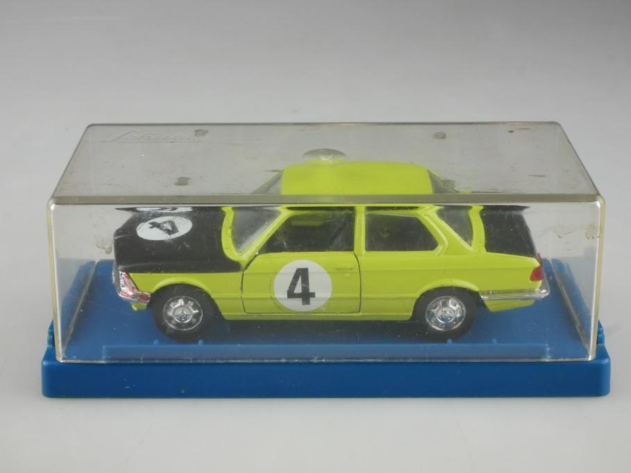 306636 Schuco 1/43 BMW 3er 320 Rallye leuchtgrün mit Box 514007