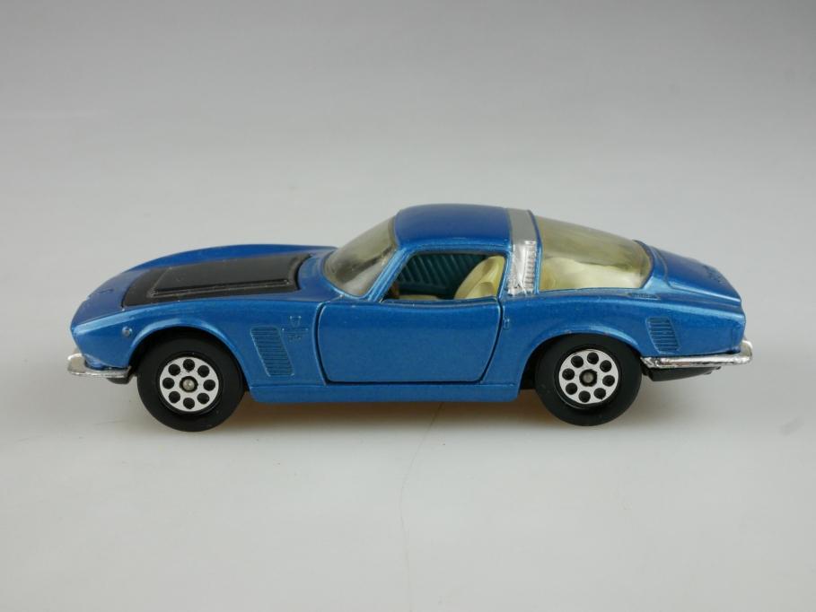 301 Corgi Toys 1/43 Iso Grifo 7 Litre Coupe 1963 bluemetallic ohne Box 514014