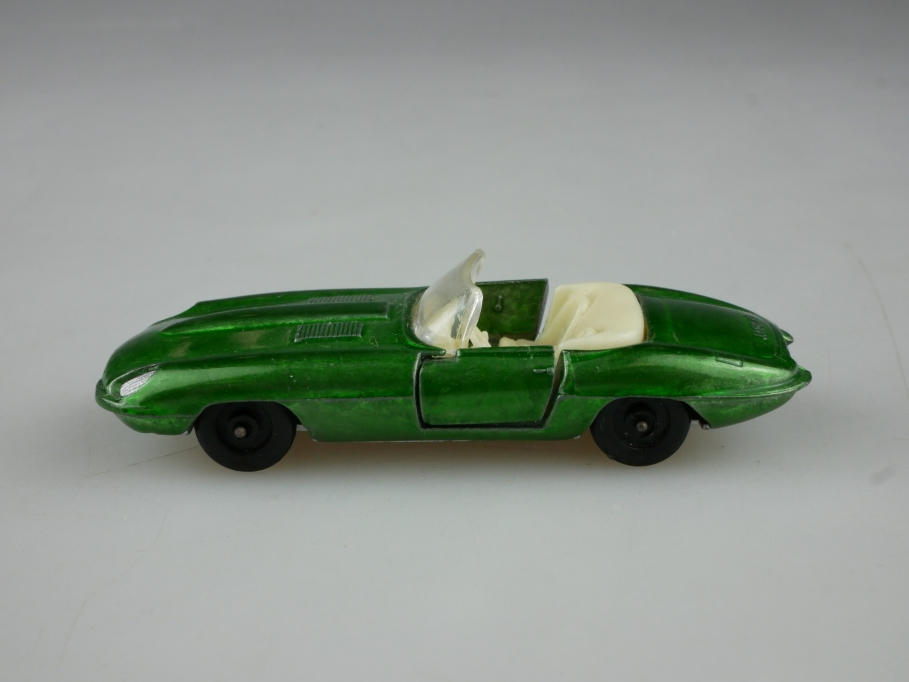 403 Efsi Holland ca.1/72 Jaguar E Type Roadster greenmetallic ohne Box 514056