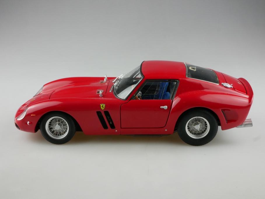 93912 Hot Wheels 1/18 Ferrari 250 GTO Coupe red 1962 ohne Box 514086