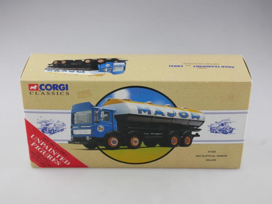 97328 Corgi Classics 1/50 AEC Eleptical Tanker Major 4Achs mit Box 514108