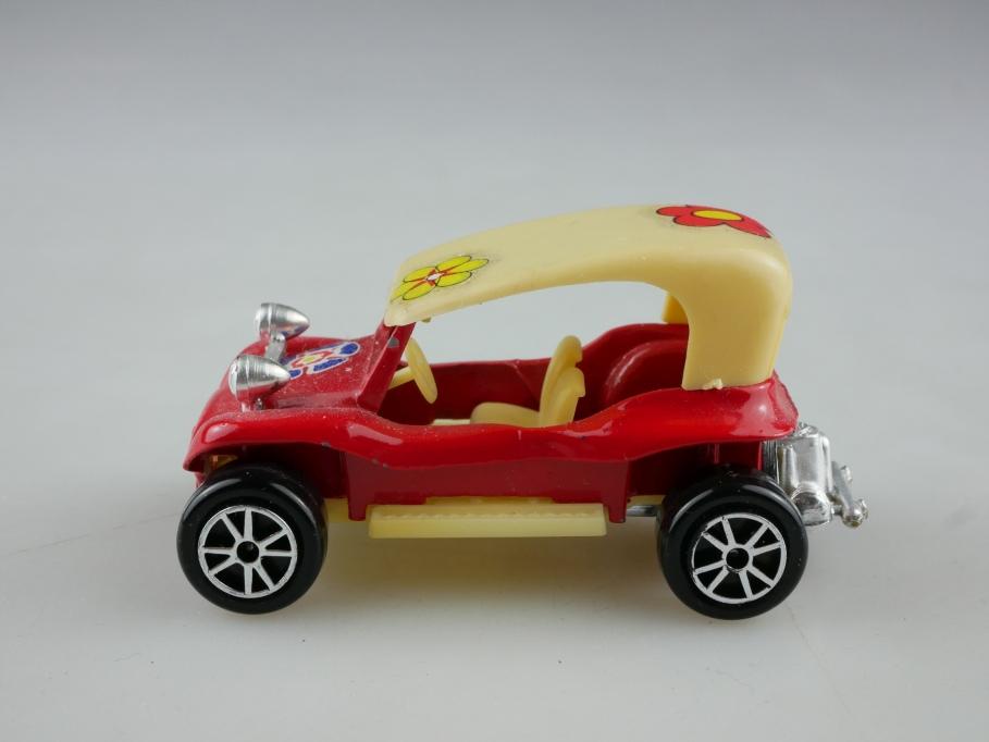 248 Majorette 1/55 VW Dune Buggy Strandwagen mit Pril Blumen ohne Box 514165
