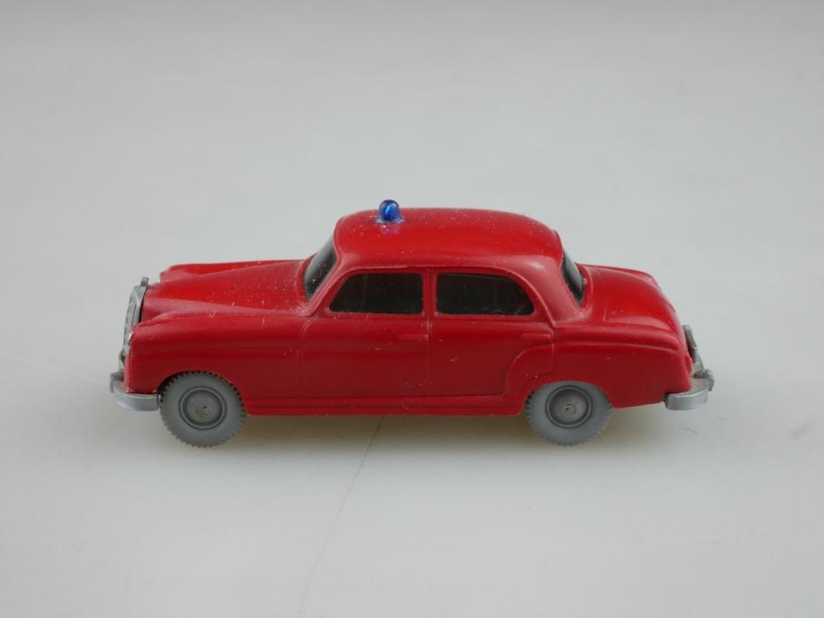 Saure 1041 Wiking 1/87 Mercedes Benz 220 Feuerwehr Leitwagen ohne Box 514271