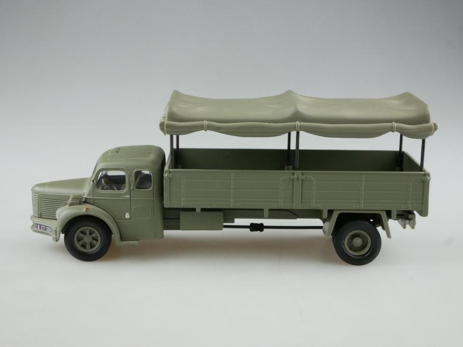 Corgi Toys 1/50 Berliet GLR Truck Miltär Pritsche Plane ohne Box  514369