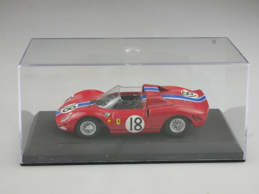 Best Models 1/43 Ferrari 365 P2 Spyder Scuderia Nart le Mans 1965 mit Box 514468