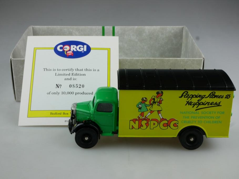 97123 Corgi Classic 1/50 Bedford  NSPCC Van Stepping Stones mit Box 514477