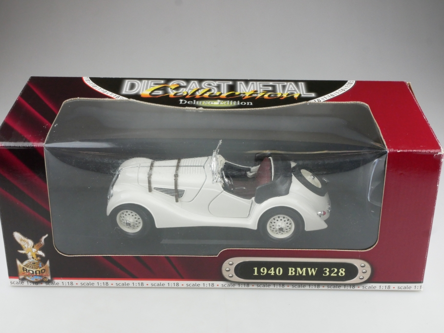 Road Signature 1/18 BMW 328 Roadster 1940 white mit Box 514483