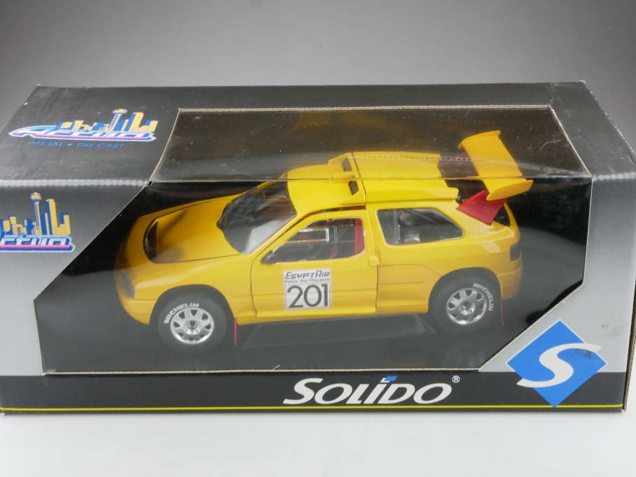 8503 Solido 1/18 Citroen ZX Rallye des Pharaones Egypt Air mit Box 514511