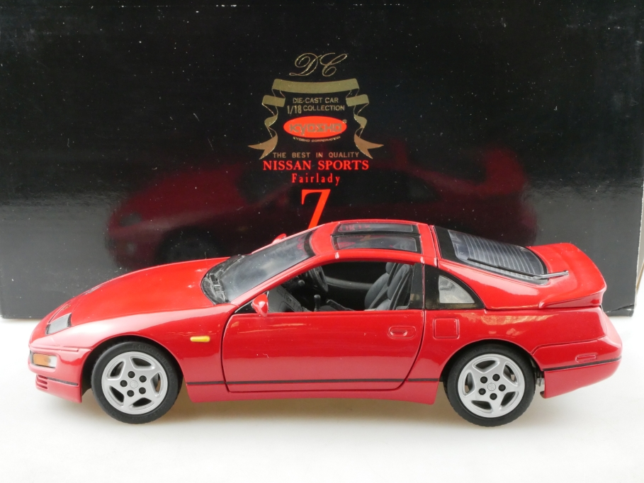 Kyosho 1/18 Nissan Sports Fairlady 300 ZX Z Coupe Händleredition mit Box 514520