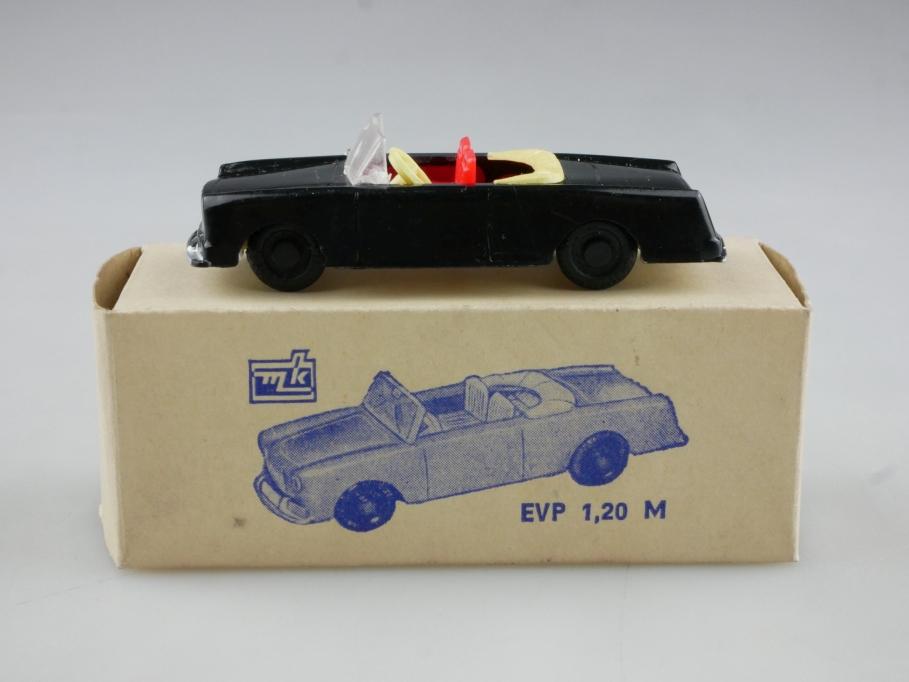 MK Modelle 1/87 Fiat 1500 Convertible cabrio black selten mit Box 514640