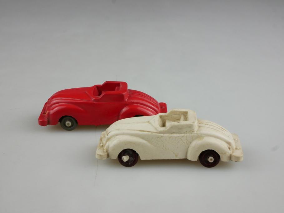 902 Iges ca. 1/87 Sportcabriolet DKW ähnlich rot weiß Konvolut DDR o. Box 514635
