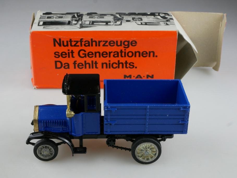 Conrad 1/50 MAN Diesel Pritschen LKW 1924 Händleredition mit Box 514752